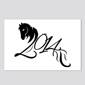 2014 Chinese Symbol Year of the Horse Postcards (P