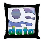 OSdata Throw Pillow