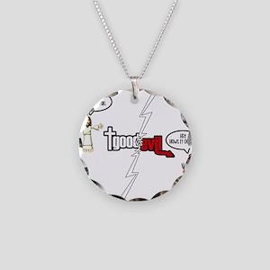 GOODVSEVILnew copy Necklace Circle Charm