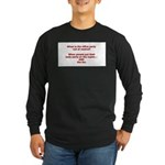 OUT OF CONTROL Long Sleeve Dark T-Shirt
