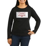OUT OF CONTROL Women's Long Sleeve Dark T-Shirt