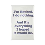 Retirement Rectangle Magnet (10 pack)