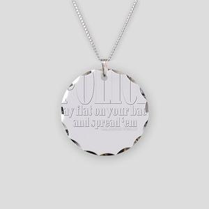 10x10_apparel PoliceB copy Necklace Circle Cha