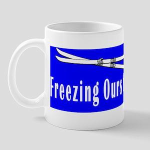 Ski Patrol Blue Mug