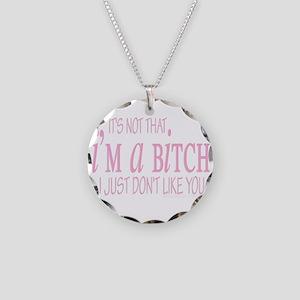 awallclock nottthatimabitch copy Necklace Circ