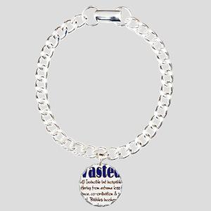 10x10_apparel wasted copy Charm Bracelet, One