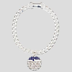 10x10_apparel hungover copy Charm Bracelet, On
