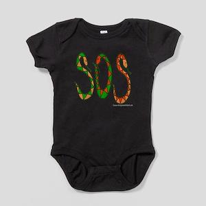 10x10_apparel SOS copy Baby Bodysuit