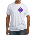 Wine Fitted T-Shirt