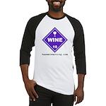 Wine Baseball Jersey