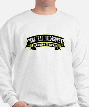 Personal Philosophy Sweater