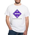 Wine White T-Shirt