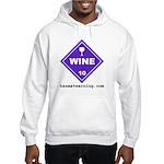 Wine Hooded Sweatshirt