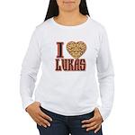 10x10_apparel troublelukasgold copy Women's Lo