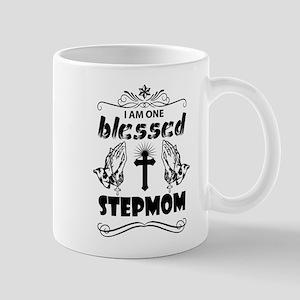 I Am One Blessed Stepmom Mugs