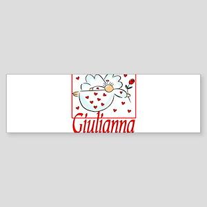 10x10_apparel giuliannaAngelheart copy Sticker