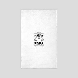 I Am One Blessed Nana Area Rug