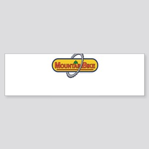 10x10_apparel mountainbike copy Sticker (Bumpe