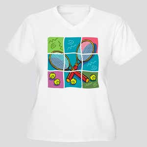 10x10_apparel puzzletennis copy Women's Plus S