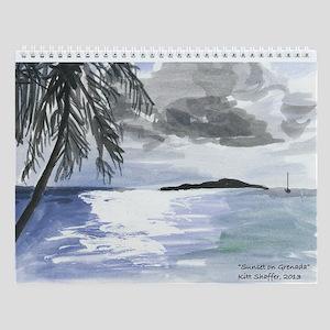 Grenadan Scenery Wall Calendar