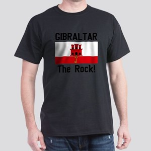 Gibraltar - Front and Back Dark T-Shirt