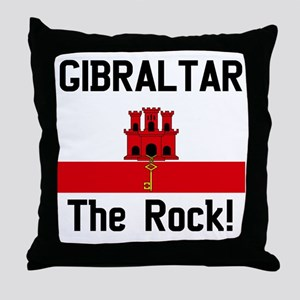 Gibraltar - Front and Back Throw Pillow
