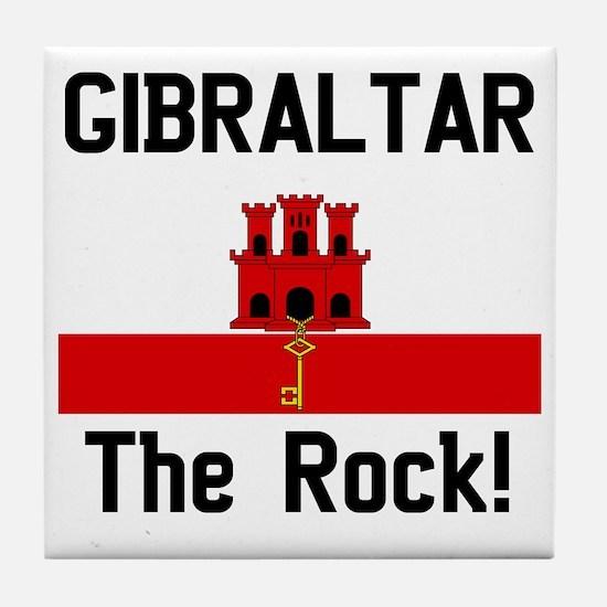 Gibraltar - Front and Back Tile Coaster