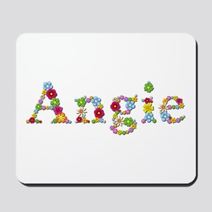 Angie Bright Flowers Mousepad