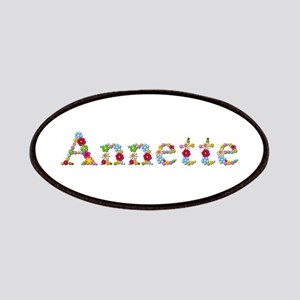 Annette Bright Flowers Patch