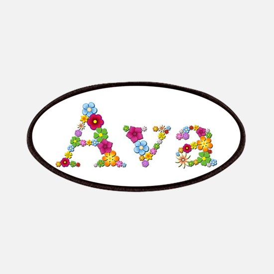 Ava Bright Flowers Patch