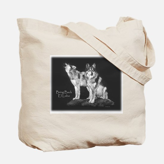 Mexican Wolves Tote Bag