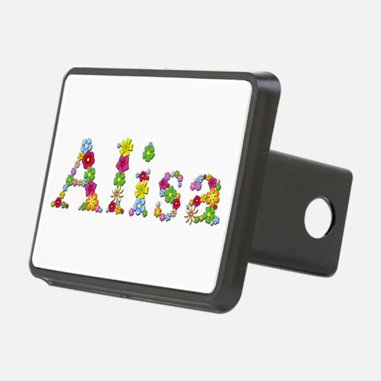 Alisa Bright Flowers Hitch Cover