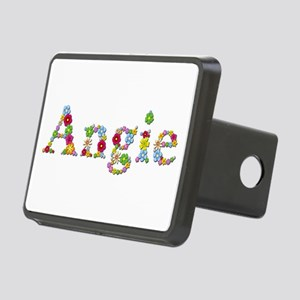 Angie Bright Flowers Rectangular Hitch Cover