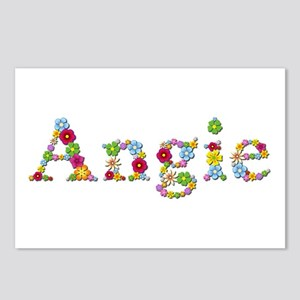 Angie Bright Flowers Postcards 8 Pack