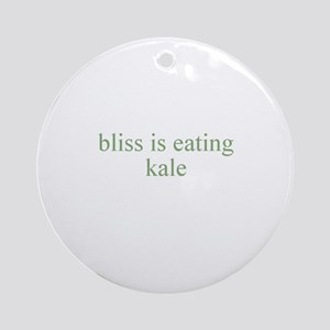bliss is eating kale Ornament (Round)