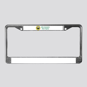 West Virginia State Seal #4 License Plate Frame