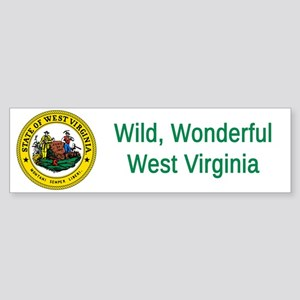 West Virginia State Seal #4 Bumper Sticker