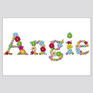 Angie Bright Flowers Large Poster