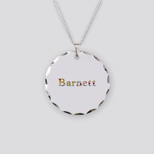 Barnett Bright Flowers Necklace Circle Charm