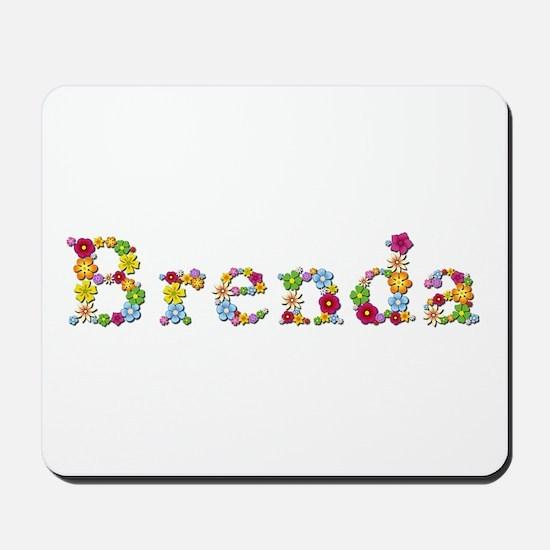 Brenda Bright Flowers Mousepad