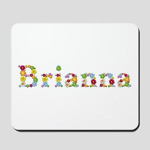 Brianna Bright Flowers Mousepad