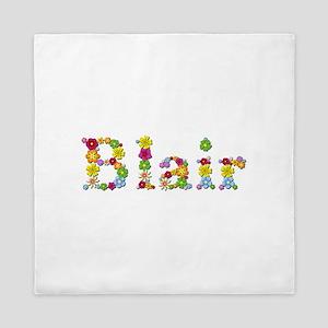 Blair Bright Flowers Queen Duvet