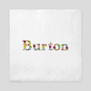 Burton Bright Flowers Queen Duvet