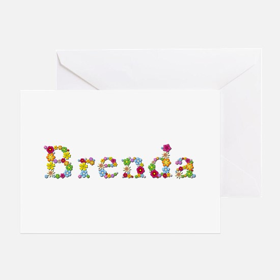 Brenda Bright Flowers Greeting Card