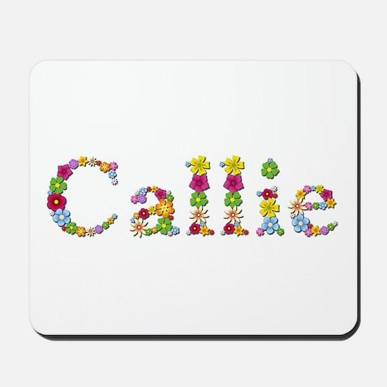 Callie Bright Flowers Mousepad