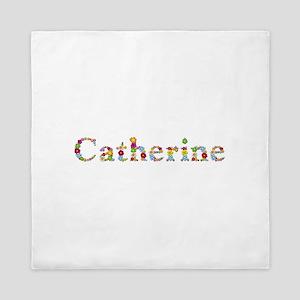 Catherine Bright Flowers Queen Duvet
