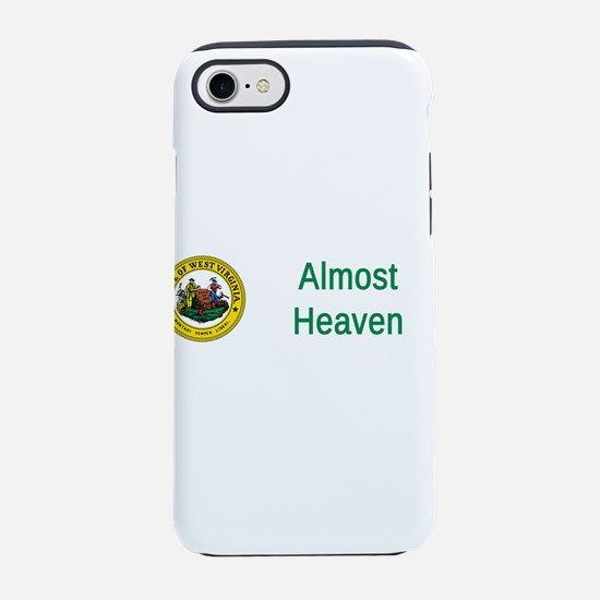 West Virginia State Seal #5 iPhone 7 Tough Case