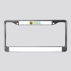 West Virginia State Seal #2 License Plate Frame
