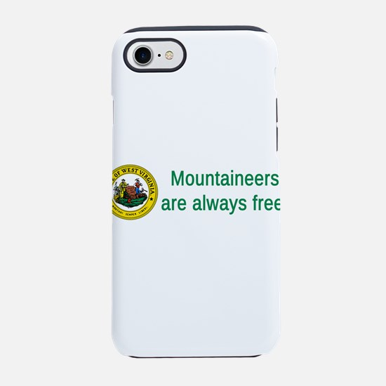West Virginia State Seal #2 iPhone 7 Tough Case