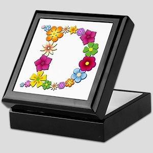 D Bright Flowers Keepsake Box